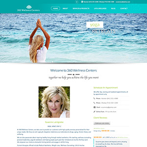 360 wellness centers website