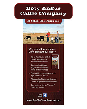 doty angus display sign