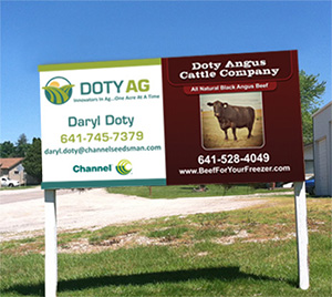 doty ag/angus hwy sign