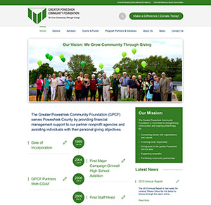 greater poweshiek community foundation website