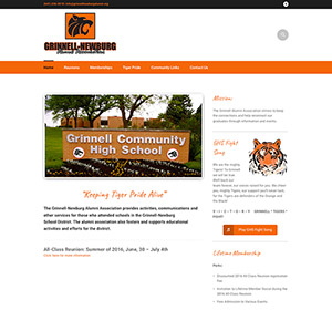 grinnell newburg alumni website