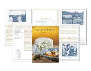 the blue course cookbook