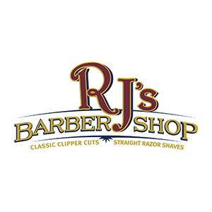 rj barbershop logo