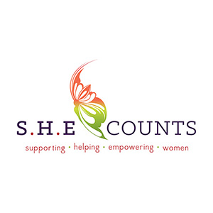 she counts logo