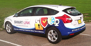 partner coop vehicle wrap