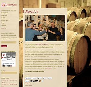 winestyles blog