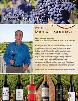 winestyles mondavi html email